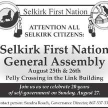 © Selkirk First Nation 2017